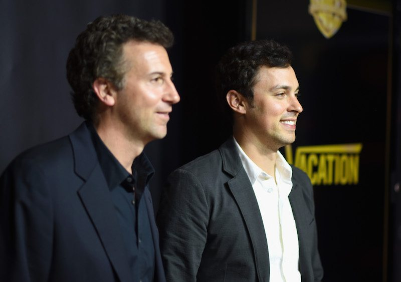 Writer/directors Jonathan M. Goldstein (L) and John Francis Daley