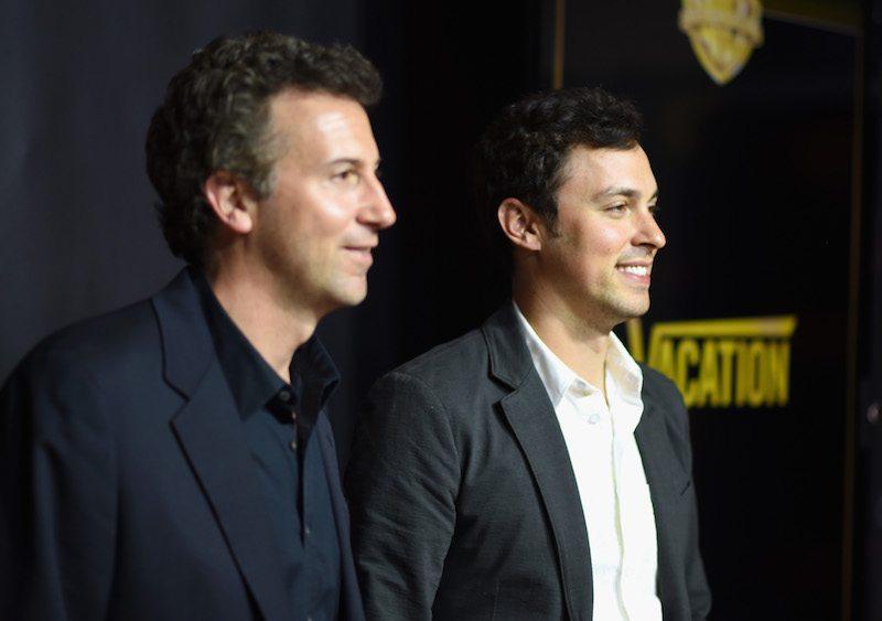 Writer/directors Jonathan M. Goldstein (L) and John Francis Daley