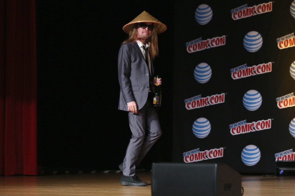 Actor Macaulay Culkin attends the Adult Swim Panel: Robot Chicken.