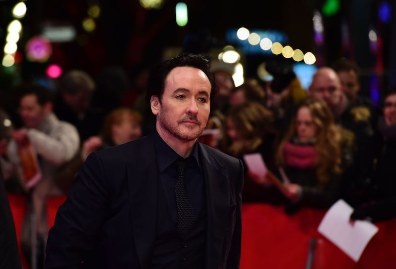 """US actor John Cusack arrives for the screening of the film """"Chi-Raq"""""""