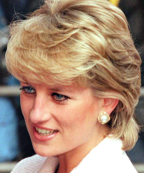 Princess Diana in 1996