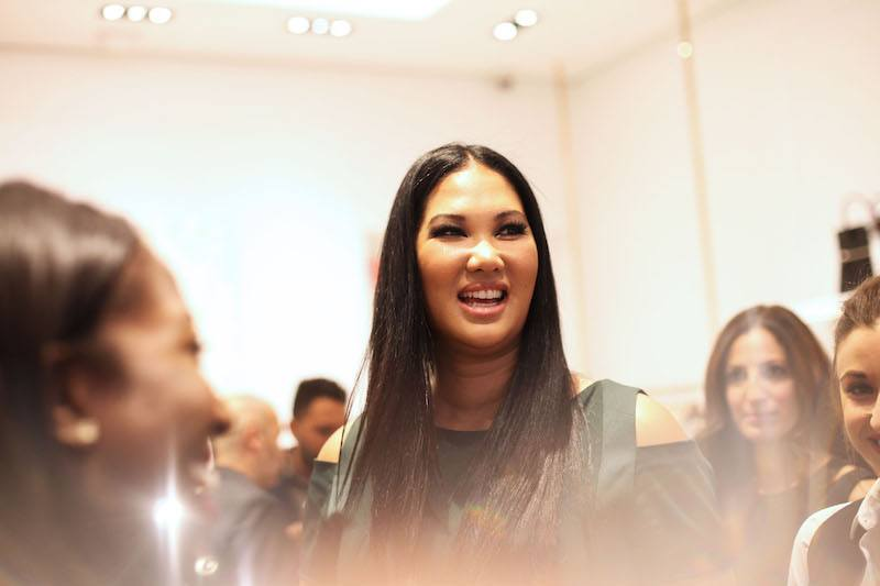 imora Lee Simmons attends the 1 Year Anniversary of Kimora Lee Simmons' Beverly Hills boutique