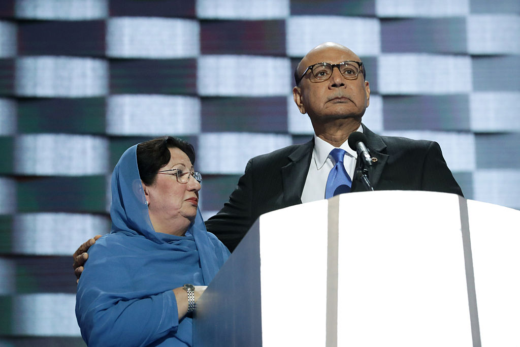 Khizr Khan and Ghazala Khan