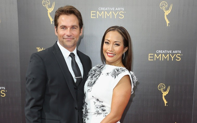 Robb Derringer and Carrie Ann Inaba