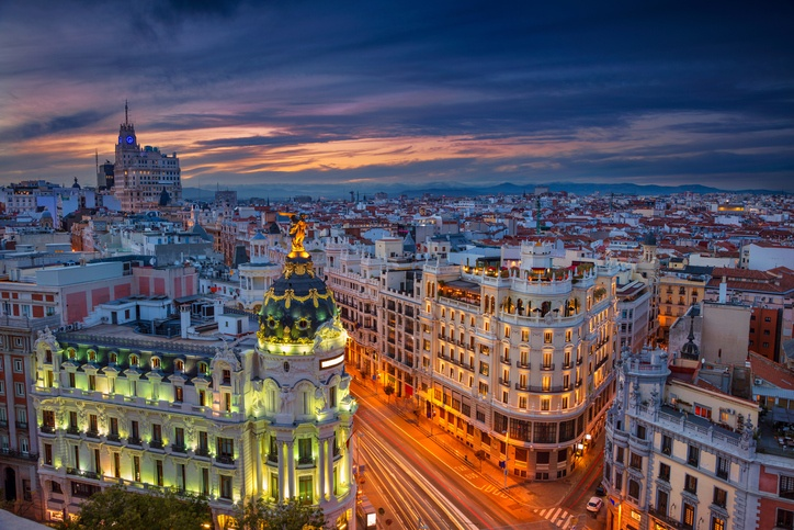 Madrid, Spain, cityscape