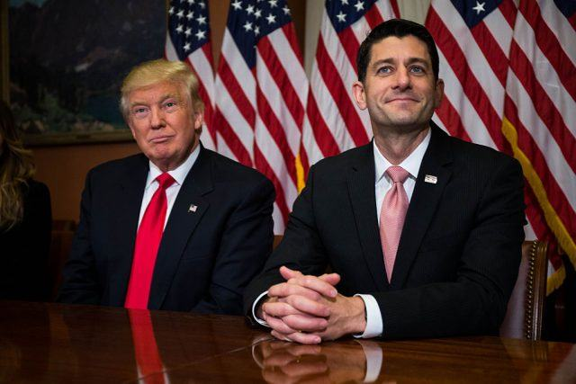 Donald Trump and Paul Ryan finally pushed their their tax reform.