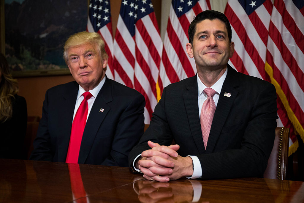 Donald Trump and Paul Ryan finally pushed their tax reform