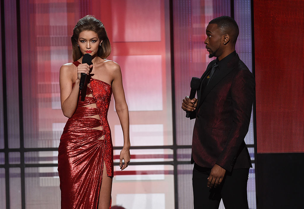 Gigi Hadid and Jay Pharoah