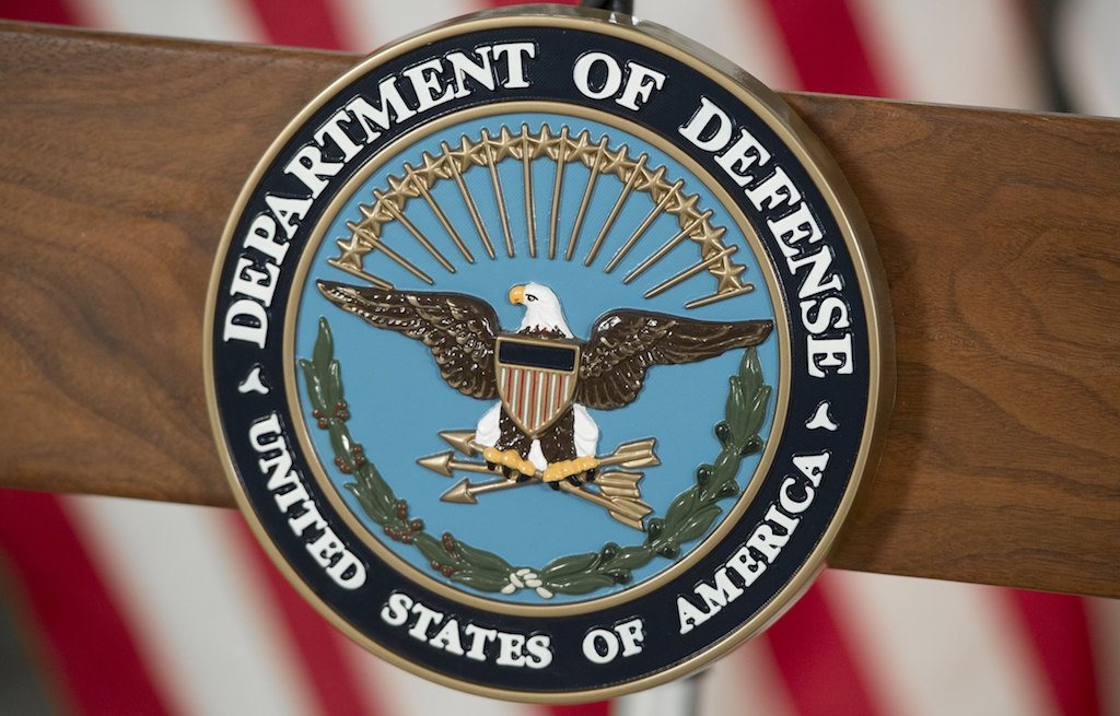 The seal of the US Department of Defense
