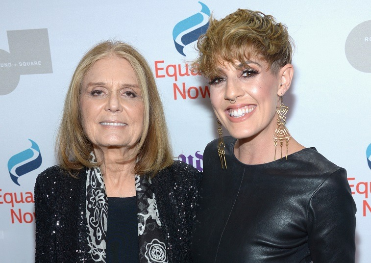 Gloria Steinem (L) and actress JC Coccoli attend Equality Now's third annual 'Make Equality Reality' Gala on December 5, 2016 in Beverly Hills, California