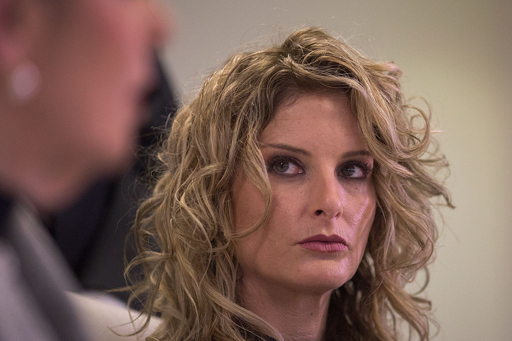 summer zervos in court for her defamation lawsuit against trump