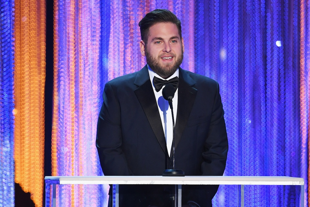 Jonah Hill onstage during The 23rd Annual Screen Actors Guild Awards