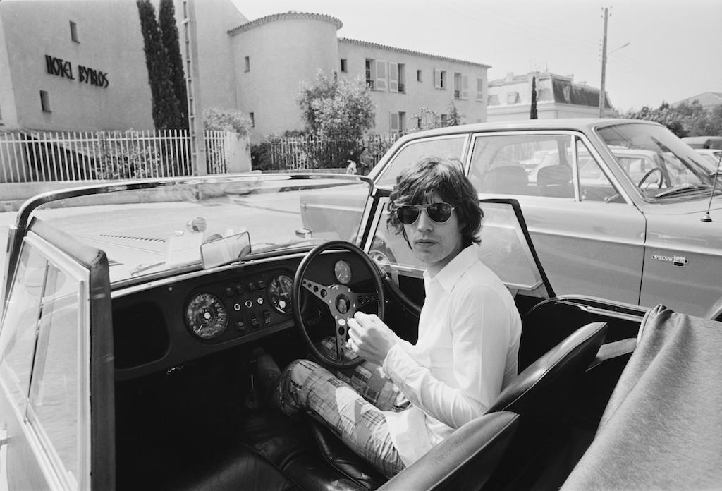 Mick Jagger in France