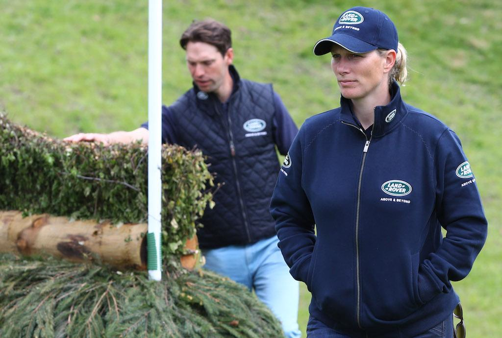 Harry Meade and Zara Tindall