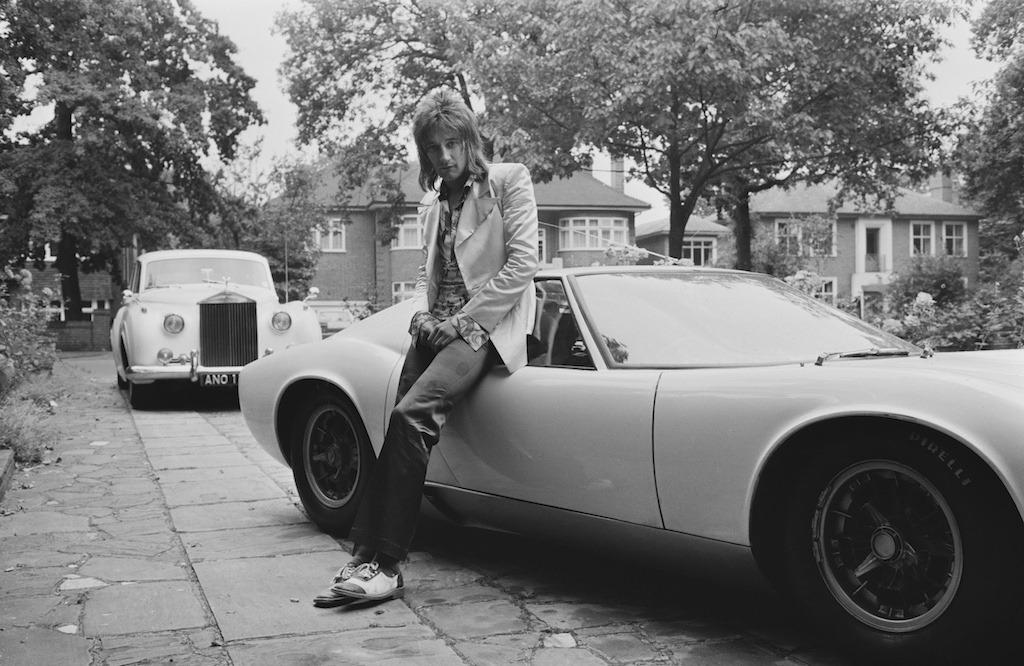 Rod Stewart Lamborghini Miura