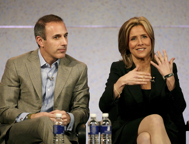 Matt Lauer and Meredith Vieira in 2007