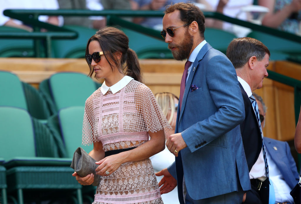 James Middleton (right) with his sister, Pippa.