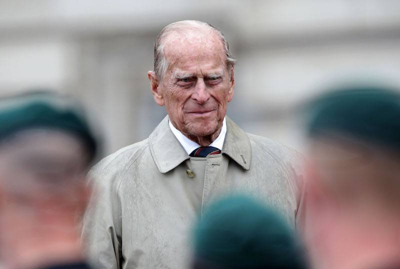 Britain's Prince Philip, Duke of Edinburgh, in his role as Captain General, Royal Marines, attends a Parade