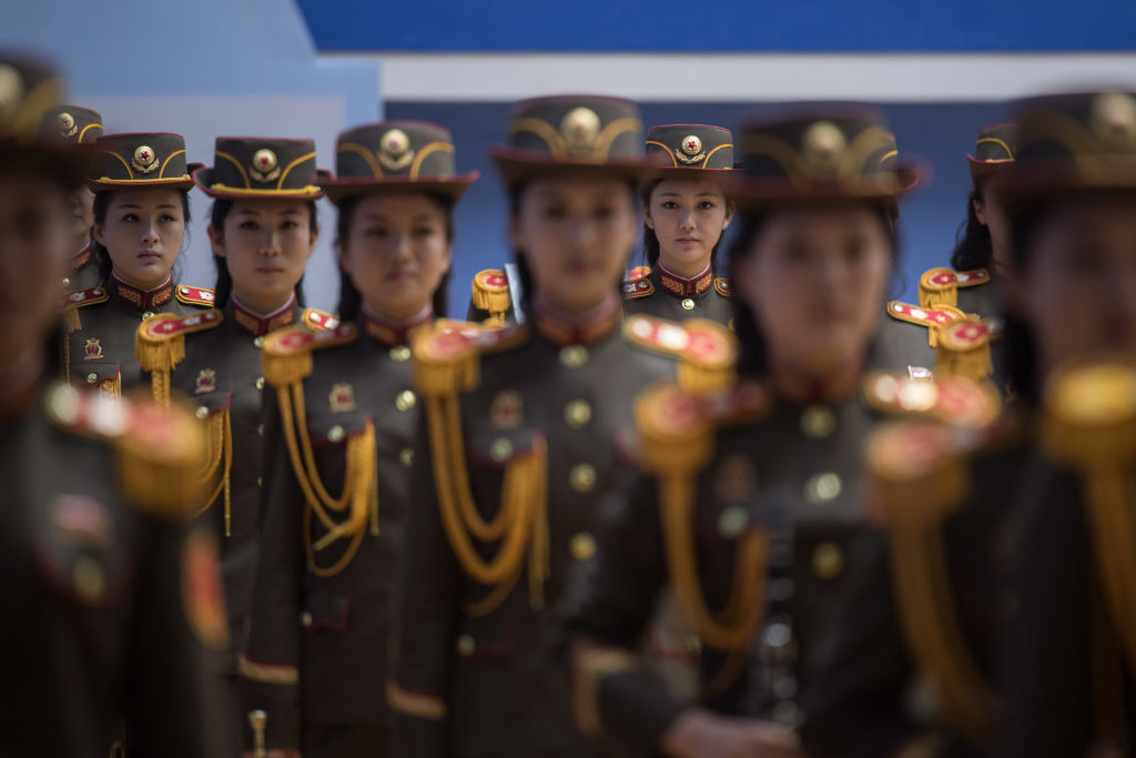 female members of the korea people's army
