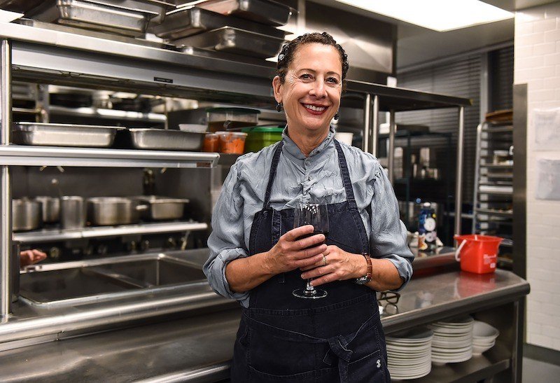 Chef Nancy Silverton attends the Food Network & Cooking Channel New York Cit