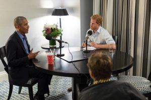 Prince Harry Is the First to Interview Barack Obama Since He Left Office