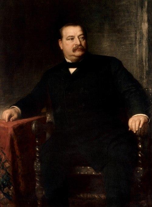 Grover Cleveland portrait
