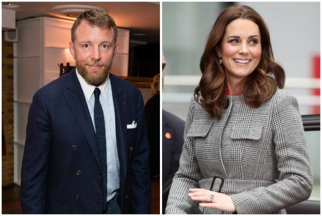 Guy Ritchie and Kate Middleton.