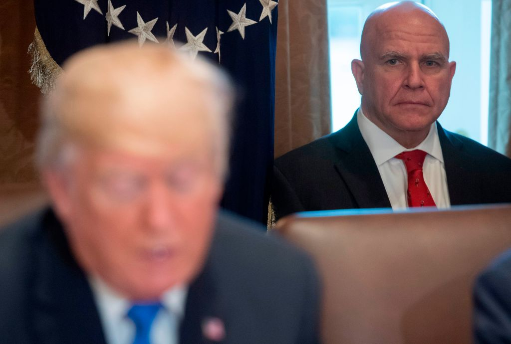 National Security Adviser H.R. McMaster