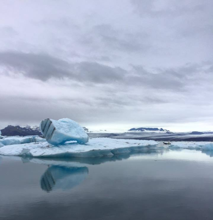 Iceland glacier Jökulsárlón