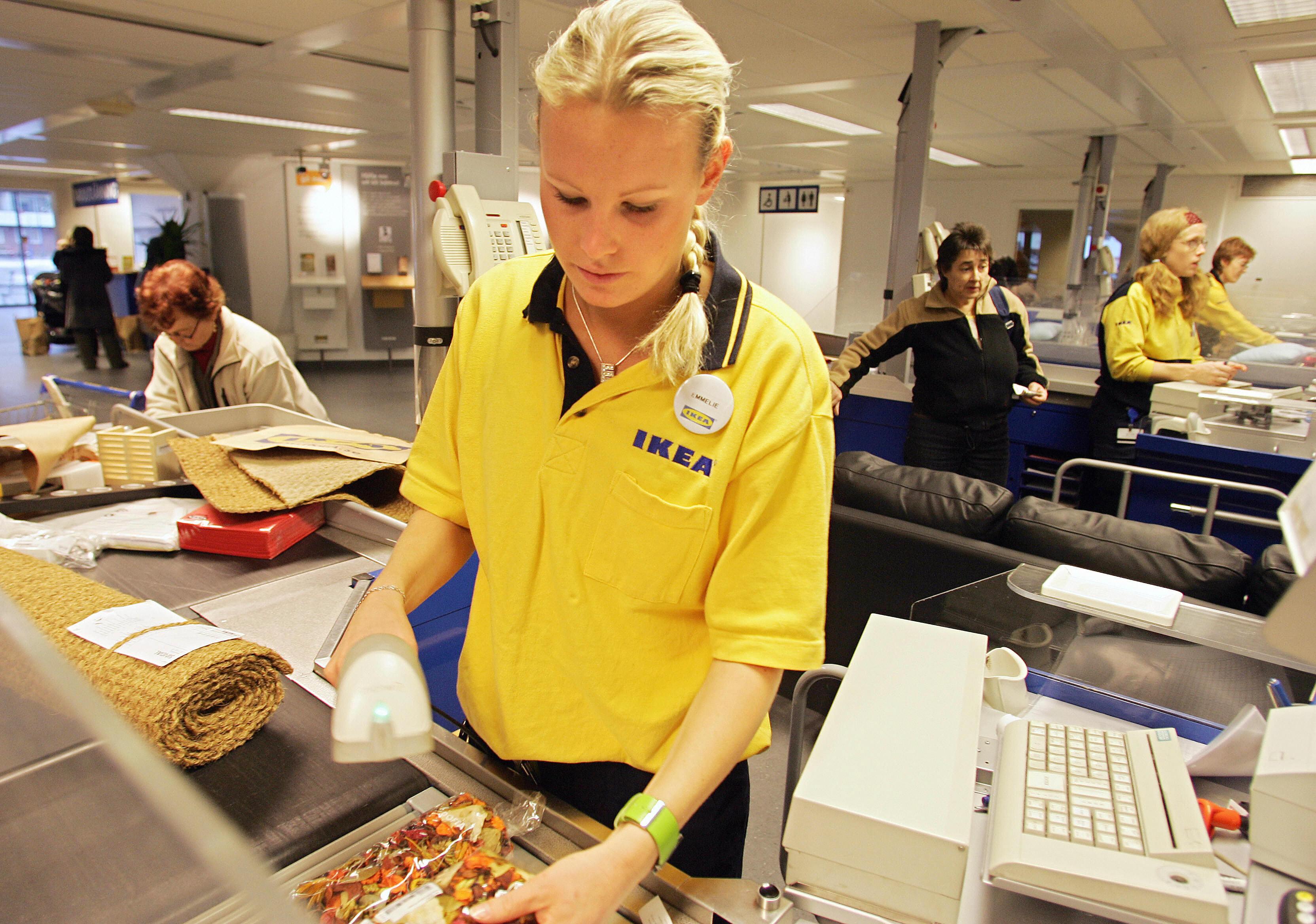 Ikea Cashier