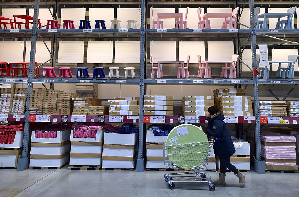 Ikea shopper