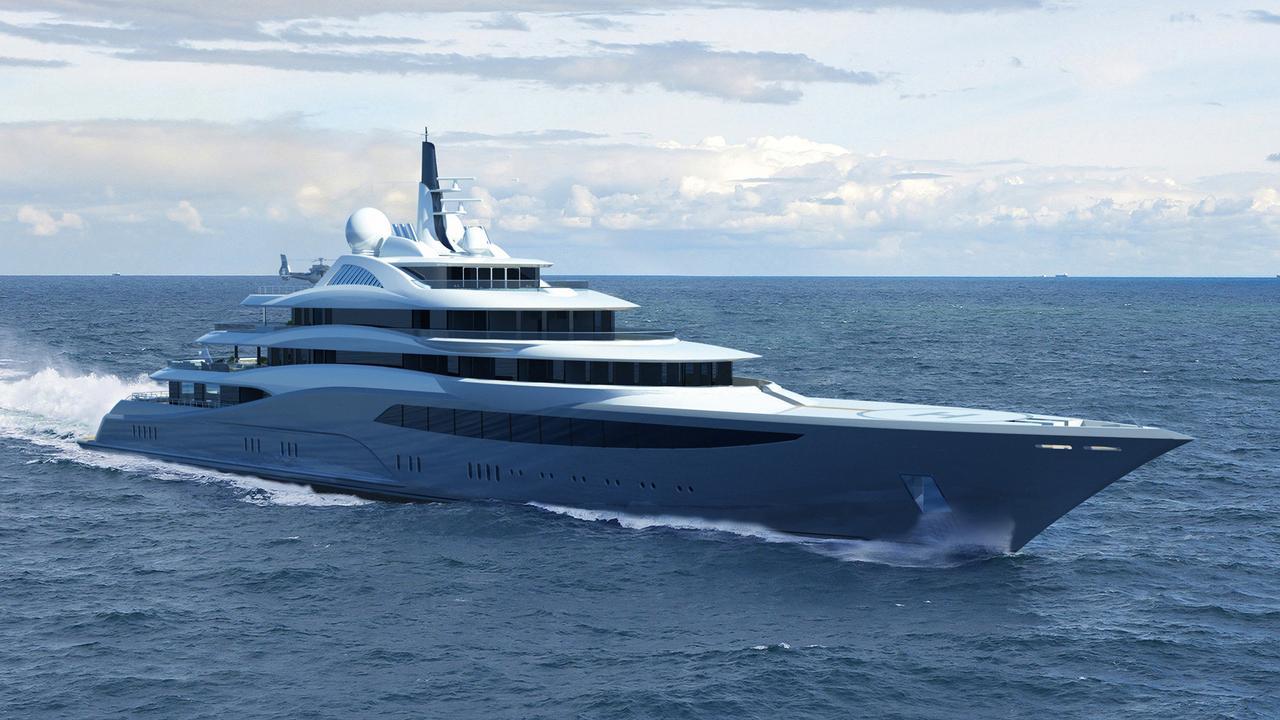 Project Infinity luxury Yacht