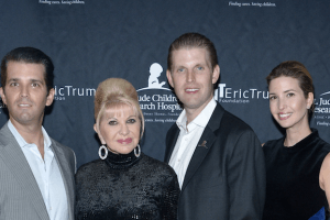 Revealing Details About Melania's Ongoing Feud With Ivana Trump