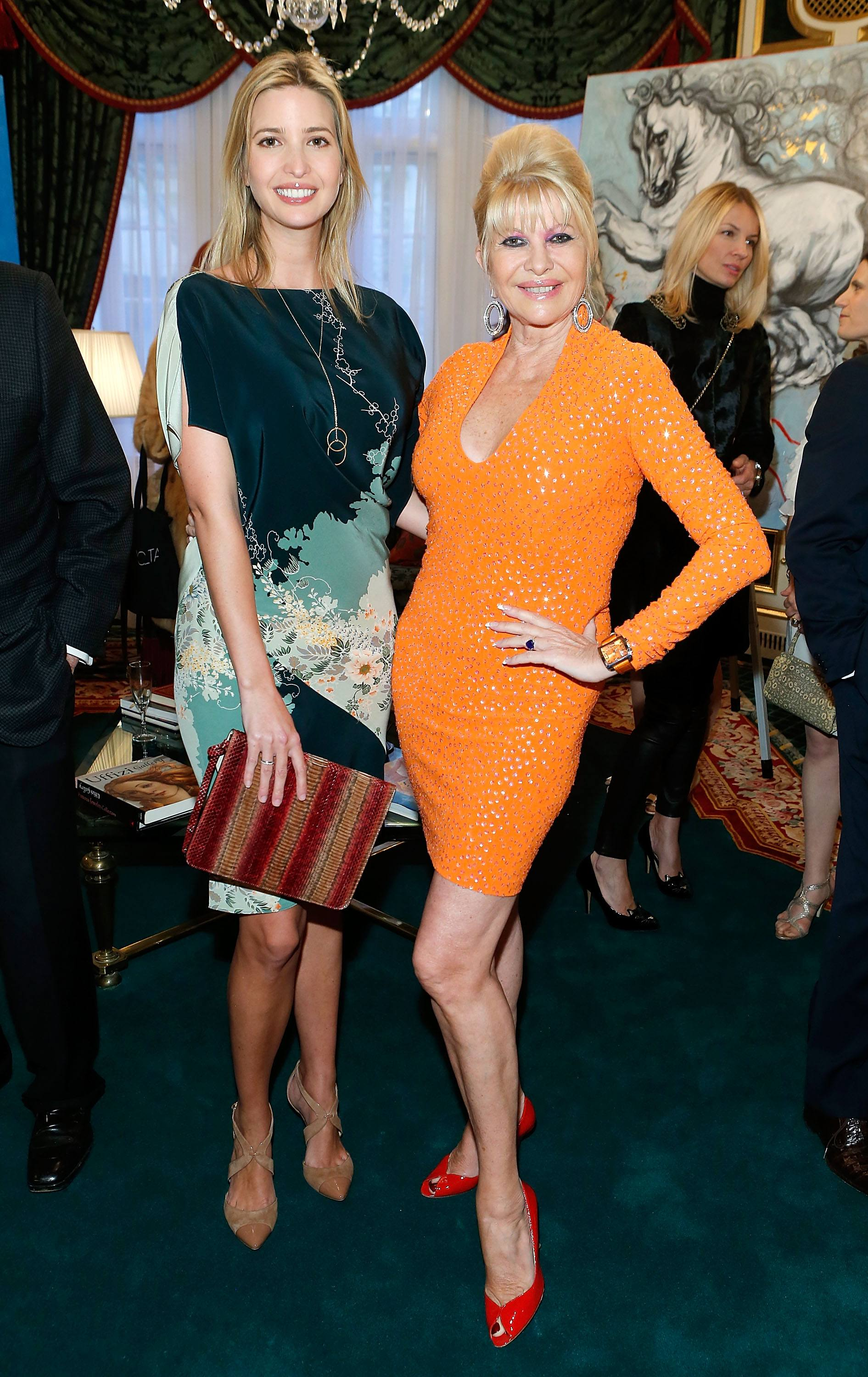 Ivanka and Ivana Trump