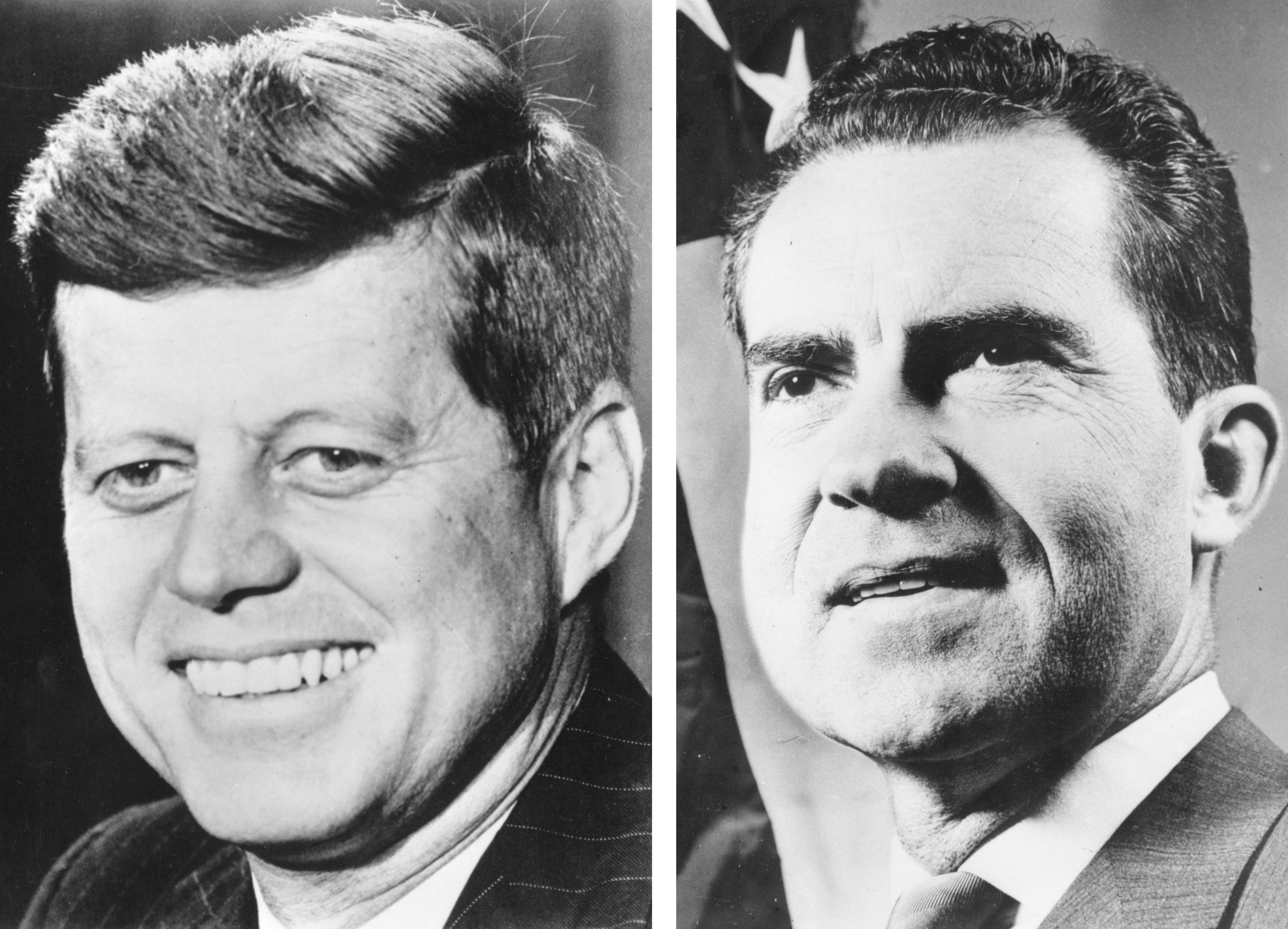 John F Kennedy v Richard Nixon