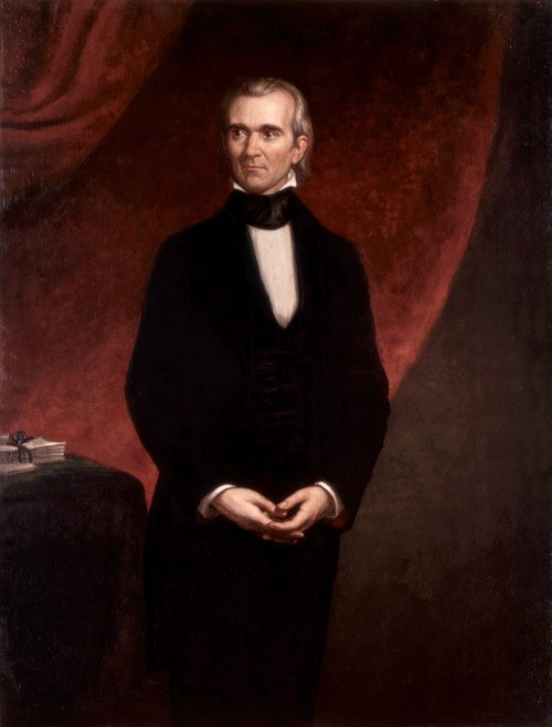 James Polk portrait