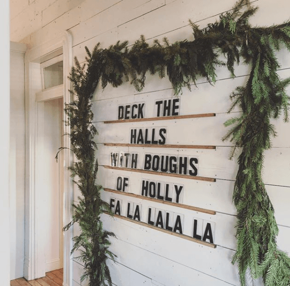Joanna Gaines Christmas Wall Decoration