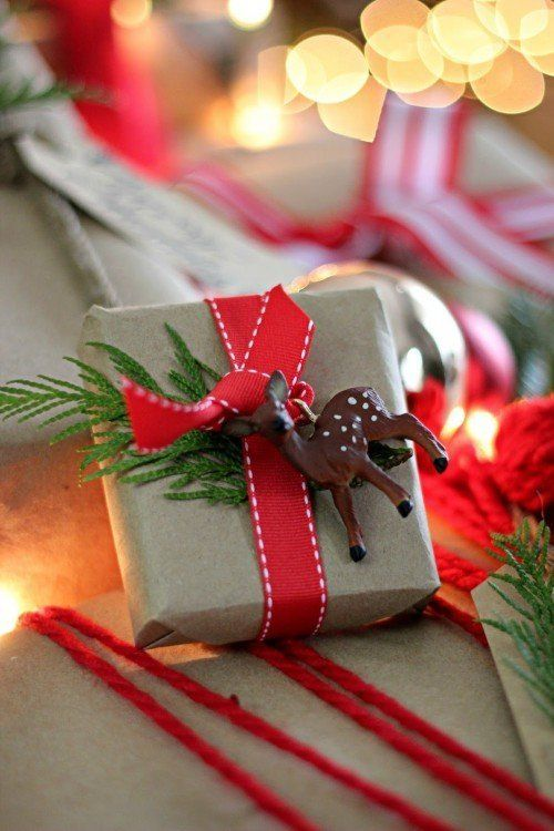 Joanna Gaines Wrapped Present Kraft paper