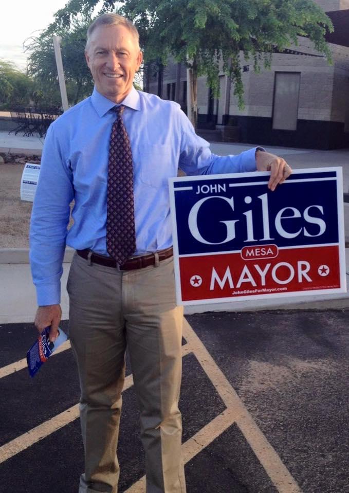 Mesa, AZ mayor John Giles