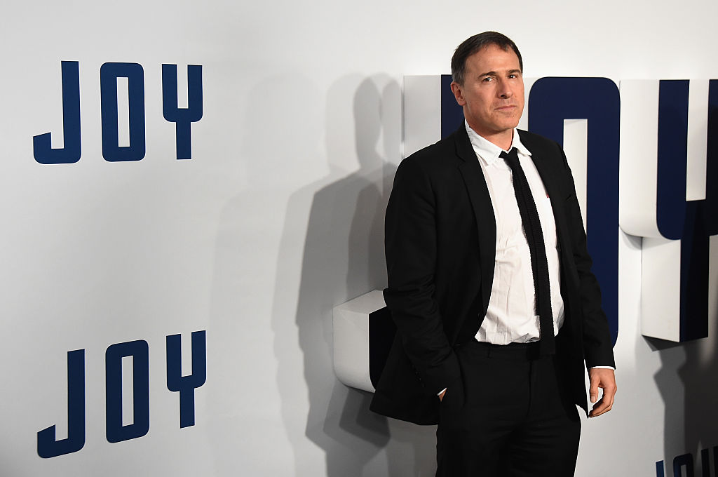 "Director David O. Russell attends the ""Joy"" New York Premiere at Ziegfeld Theater"
