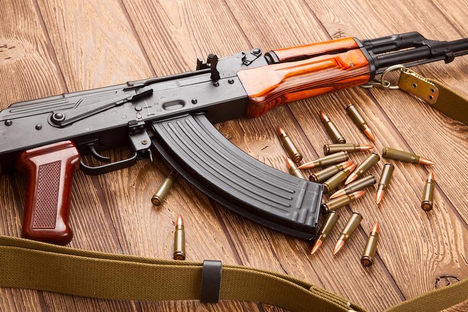 Kalashnikov assault rifles