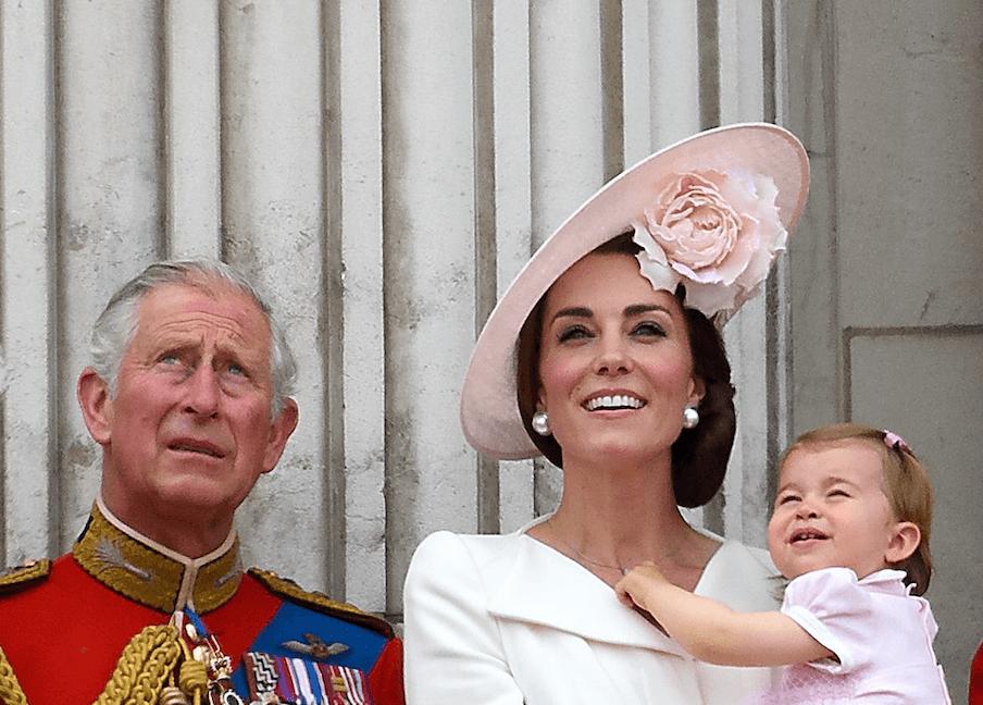 Prince Charles and Kate Middleton