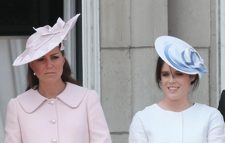 Kate Middleton and Princess Eugenie