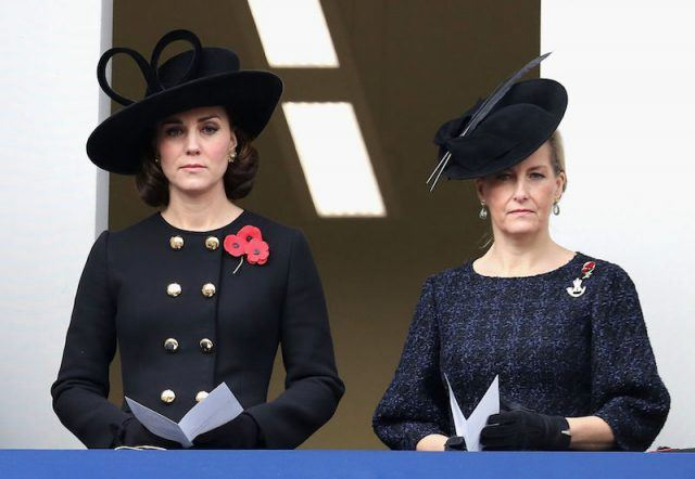 Kate Middleton and Princess Sofie standing together.