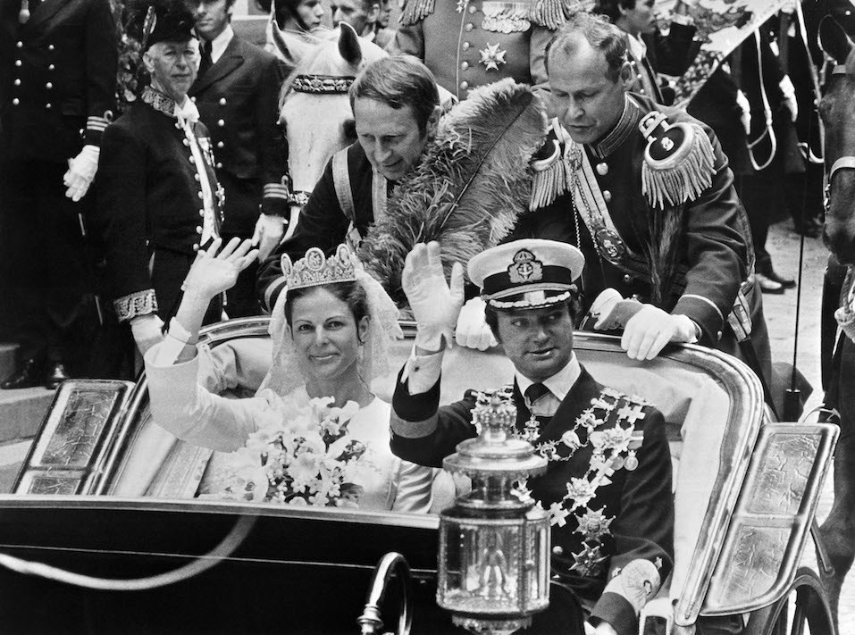 King Carl XVI Gustaf of Sweden and Queen Silvia