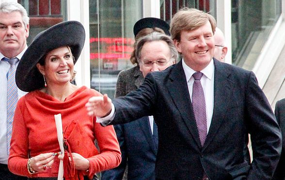 Queen Máxima and King Willem-Alexander
