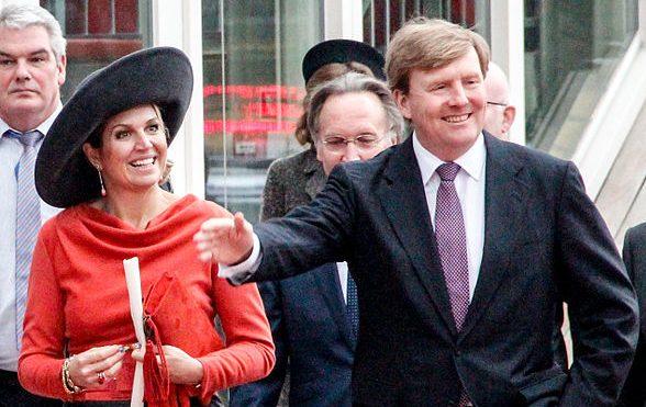 Queen Máxima and King Willem-Alexander