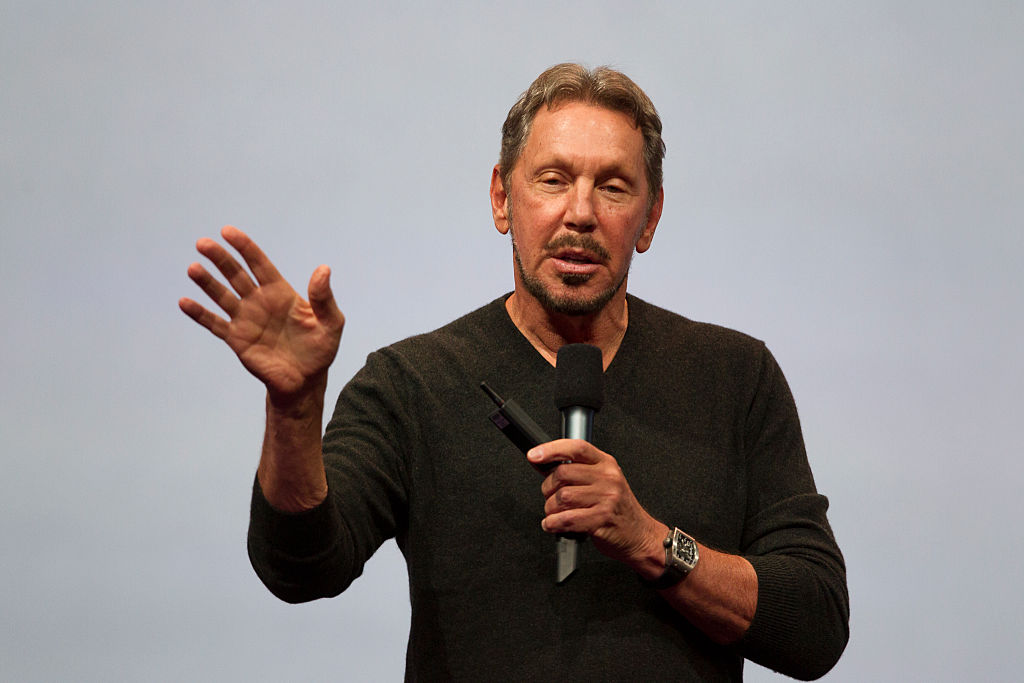 Oracle Executive Chairman of the Board and Chief Technology Officer, Larry Ellison