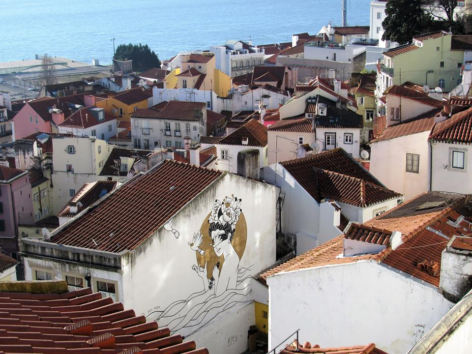 Lisbon-Portugal Aerial Art