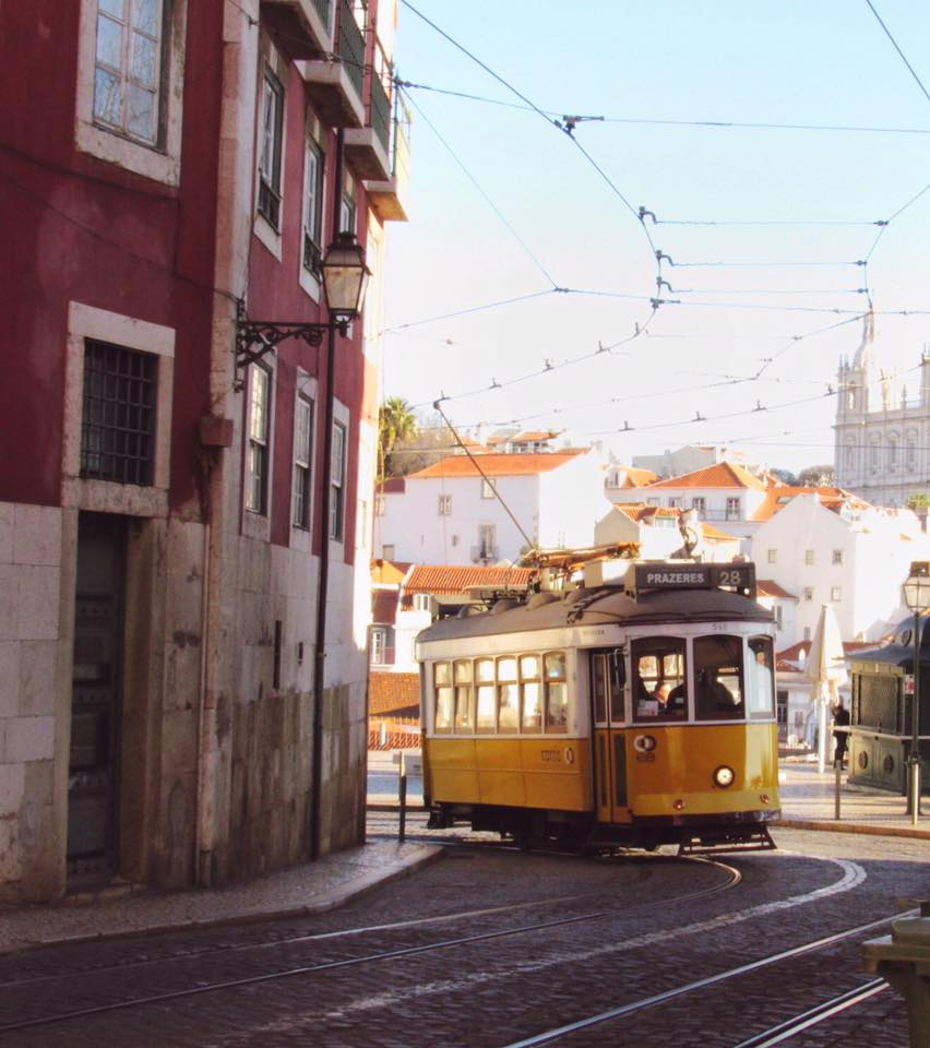 Lisbon Portugal cable car